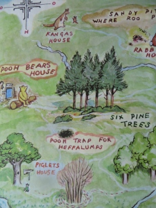 The whole freaking Hundred Acre Wood...