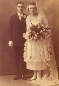 Max and Celia Lorberbaum wedding ca 1920