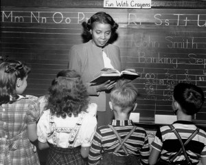 At Cooper School Miss Thelma Dewitty teaches the second grade. Miss Dewitty is a graduate of the University of washington. She taught in Corpus Christi Tex., for seven years, coming to Seattle in 1947. ( / )