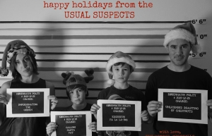Xmas Card 2015 From The Usual Suspects